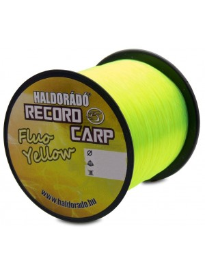 Haldorádó Record Carp Fluo Yellow 0,30 mm / 800 m - 9,9 kg