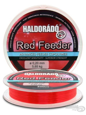 Haldorádó Red Feeder 0,22mm / 300m - 6,28 kg