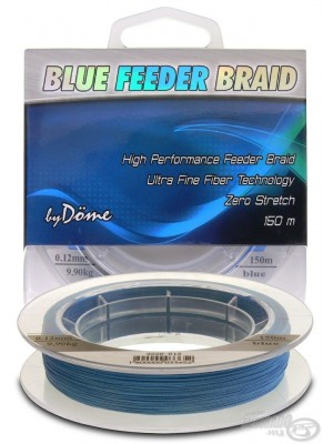 By Döme Team Feeder Blue Feeder Braid 150 m / 0.08 mm