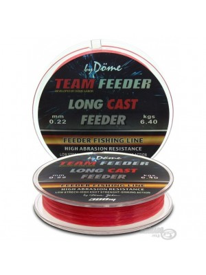 By Döme Team Feeder Long Cast Line 0,25mm / 300m - 8,6 kg
