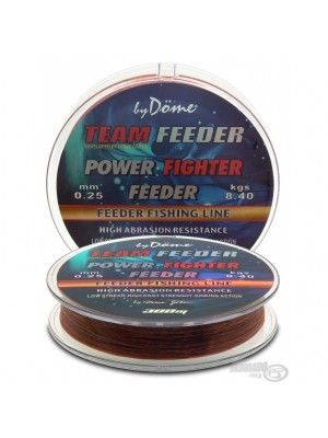 By Döme Team Feeder Power Fighter Line 0,25mm / 300m - 8,4 kg