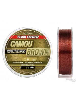 By Döme Team Feeder Camou Brown Line 0,25 mm / 300 m - 8,60 kg
