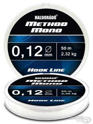 Haldorádó Method Mono Hook Line 0,12mm / 50m - 2,32 kg