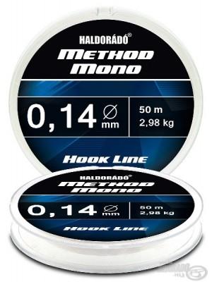 Haldorádó Method Mono Hook Line 0,14mm / 50m - 2,98 kg