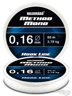 Haldorádó Method Mono Hook Line 0,16mm / 50m - 3,78 kg