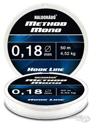 Haldorádó Method Mono Hook Line 0,18mm / 50m - 4,52 kg