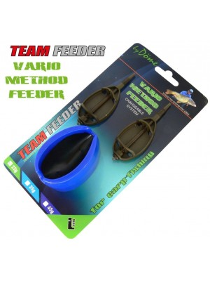 By Döme Team Feeder Vario Method Feeder košík -set L 25 g