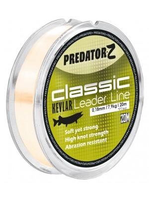 Carp Zoom Predator Classic Kevlar Leader Line - 0,18mm - 7,90kg