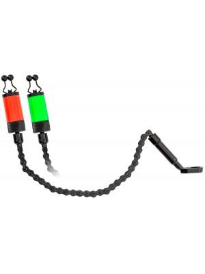 Carp Zoom Ťažžký retiazkový indikátor záberu - Fluo červený