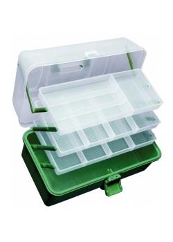 Praktické plastové kufríky - 2 poschodový