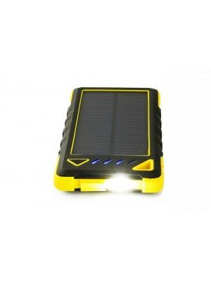 Solárna nabíjačka na mobil 1W 8000mAh + zabudovaná LED dióda