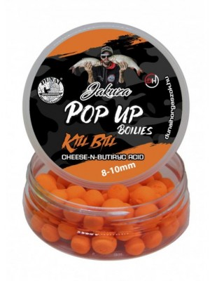 River Master - Dunai Horgaszok - Jakuza Pop Up Boilie - Kill Bill - Cheese N-Butyric 8-10mm