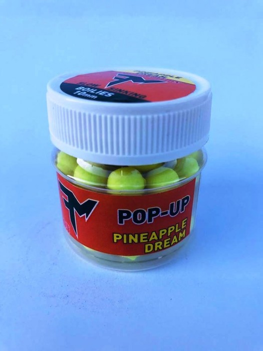 Feeder Mania Pop Up Boilie Pineapple Dream 10 mm