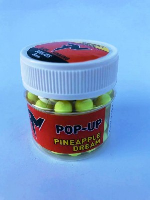 Feeder Mania Pop Up Boilie Pineapple Dream 8 mm