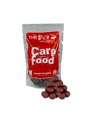The Red One Carp Food Boilies 22 mm
