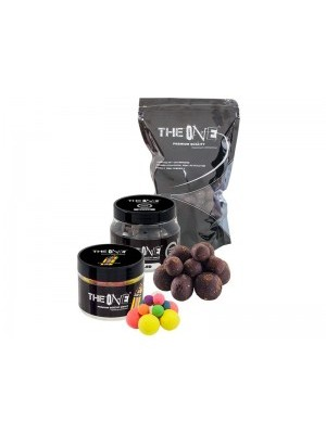 The Black One rozpustné boilies 22mm 1kg