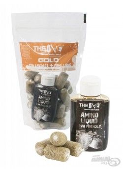 The Gold One PVA Sausage + 100ml aroma