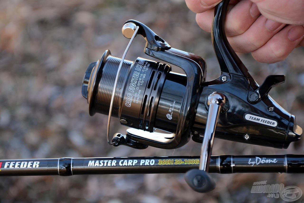 Team Feeder Master Carp Pro feeder prúty