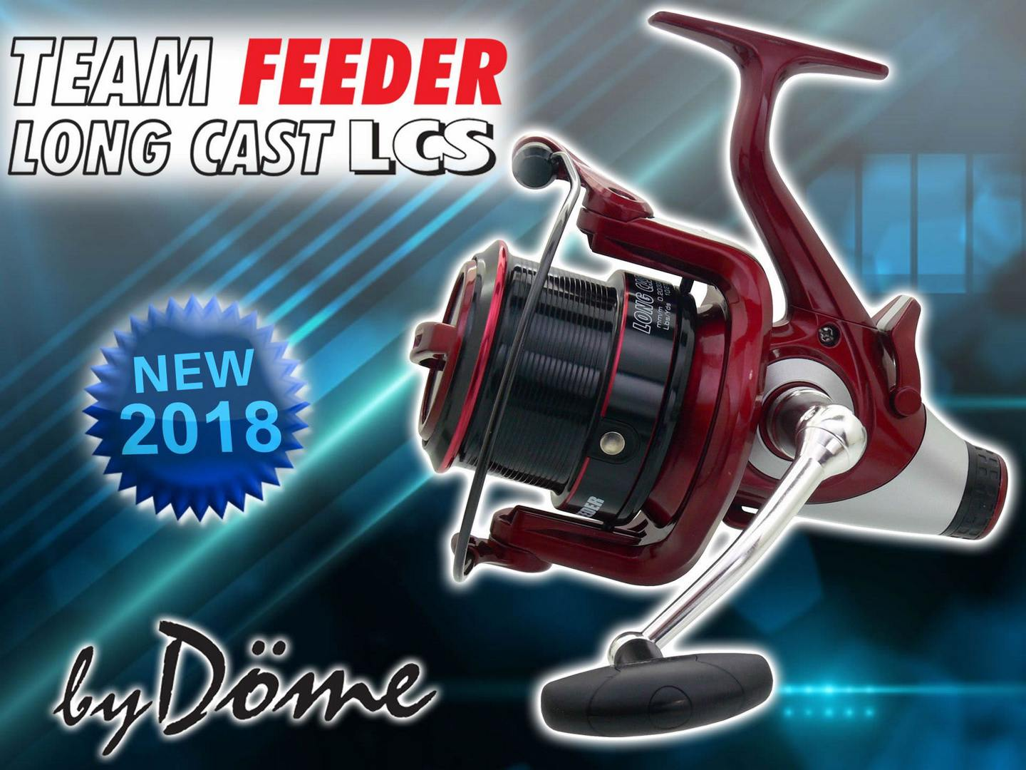 By Dome Team Feeder Long Cast LCS naviják